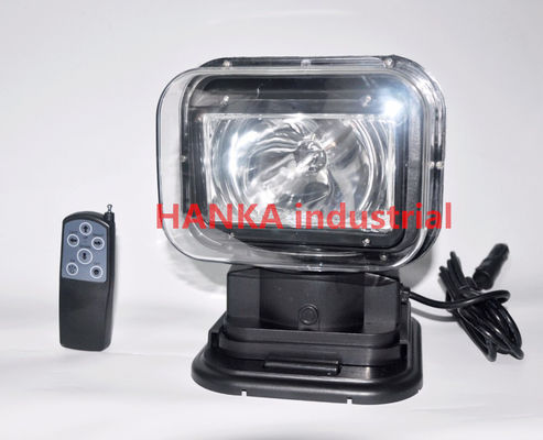 Chiny 60w 360 Degree Offroad HID Searchlight ,  Xenon Rotating Marine Search Light dostawca