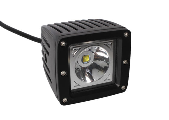 15W 4WD Led Flush Mount Pods , 3 X 3 Inch Off Road Motorycle Cree Light Pods