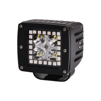 3.2 Inch 12w RGB Offroad Led Work Light , 12V 24V LED Work Light ATV SUV Mine Boat Lamp 4WD