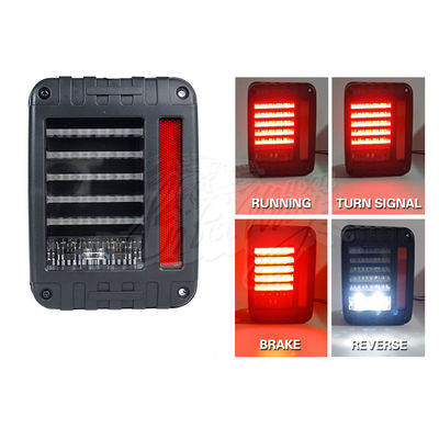 6000K DC12V IP68 LED światła tylne dla Jeep Wrangler White Yellow Color